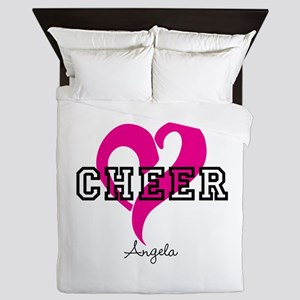 Love Cheer Heart Queen Duvet